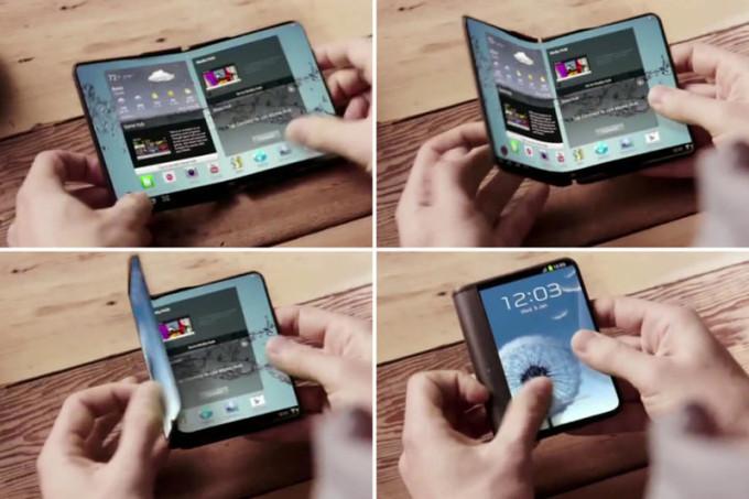 سامسونگ نمونه اولیه گوشی هوشمند تاشو را در همایش جهانی موبایل نشان میدهد