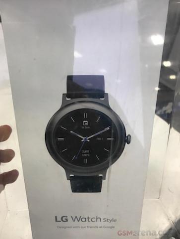 تصویری از ساعت هوشمند واچ استایل ال جی به بیرون درز کرد