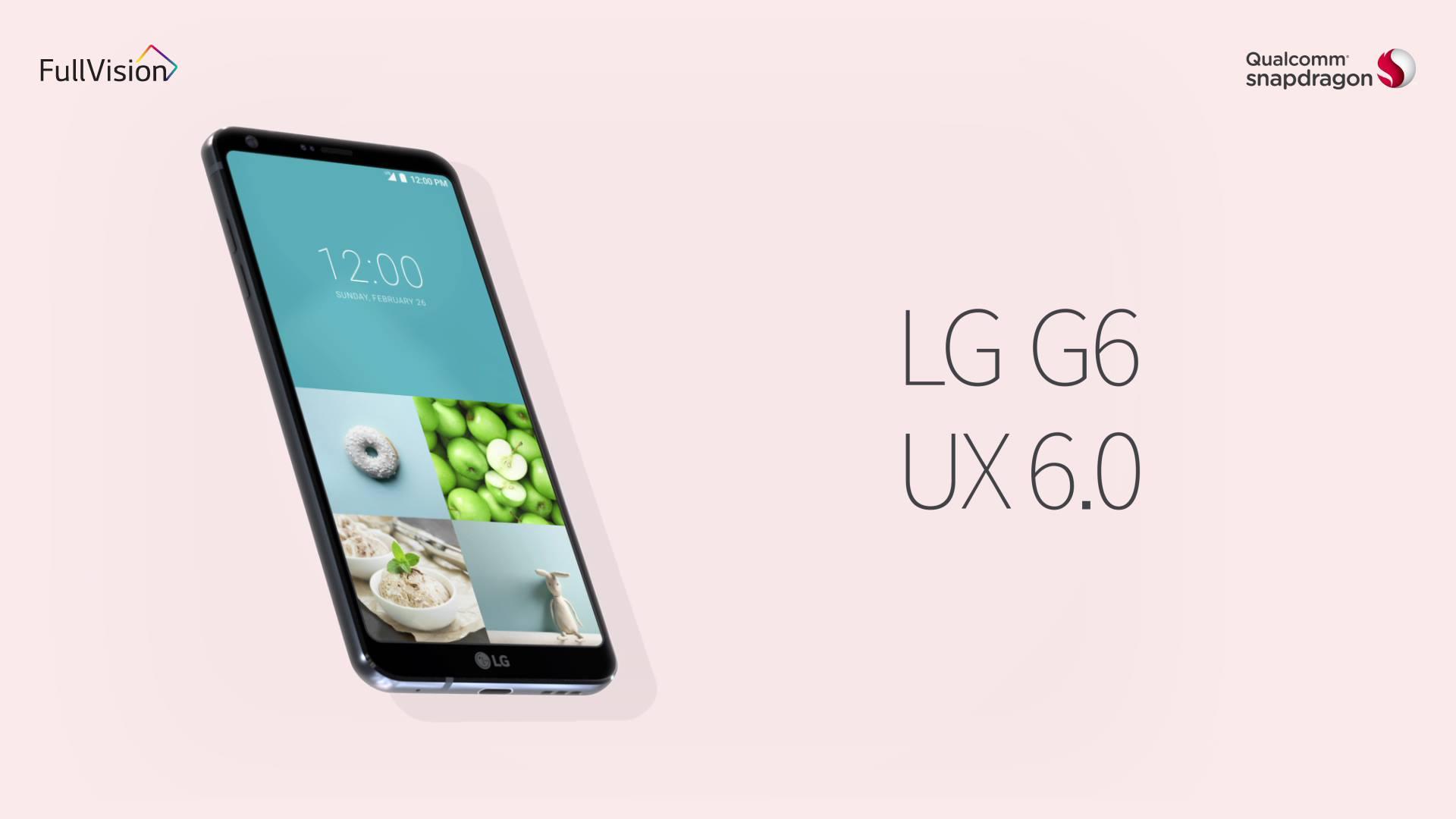 تماشا کنید: ویژگیهای رابط کاربری UX 6.0 الجی G6