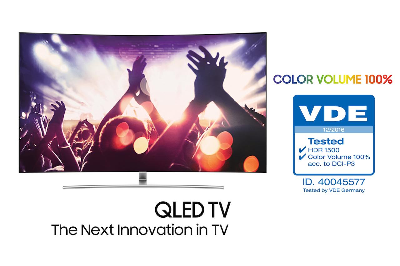"""تلویزیونهای QLED سامسونگ به عنوان اولین دارنده تاییدیه """"حجم رنگ ۱۰۰ درصدی"""" معرفی شدند؛ انقلاب تصویری در سال ۲۰۱۷"""