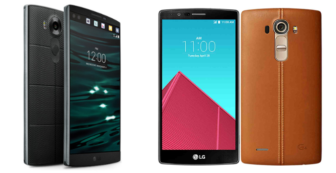 گوشیهای LG G4 و LG V10 به نوقا ارتقا پیدا میکنند