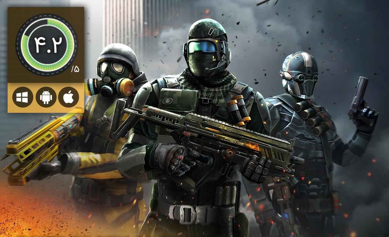 معرفی بازی Modern Combat 5 Blackout – شلیک های مرگبار