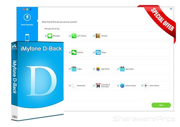 آشنایی با نرمافزار iMyfone D-Back ؛ ریکاوری اطلاعات دیوایسهای iOS