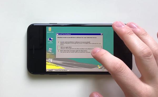 تماشا کنید: اجرای ویندوز Vista روی آیفون ۷