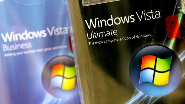 پایان پشتیبانی مایکروسافت از ویندوز ویستا