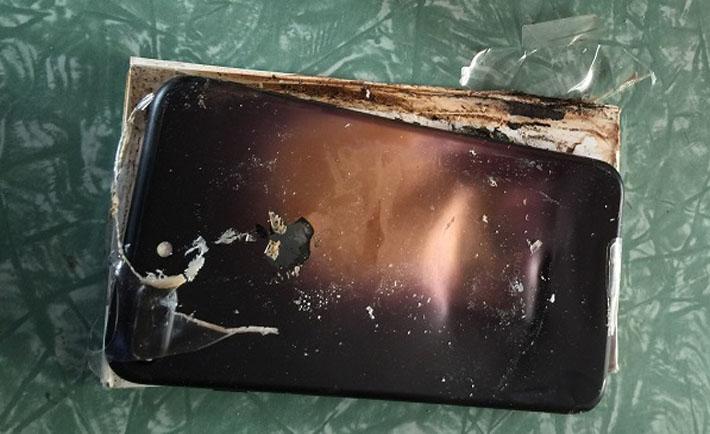 باتری، مقصر انفجار آیفون ۷ در چین!