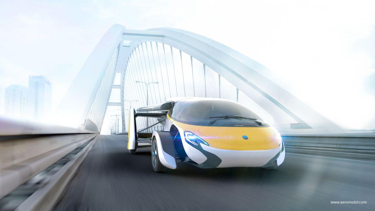 اولین ماشین پرنده دنیا بالاخره رونمایی خواهد شد!