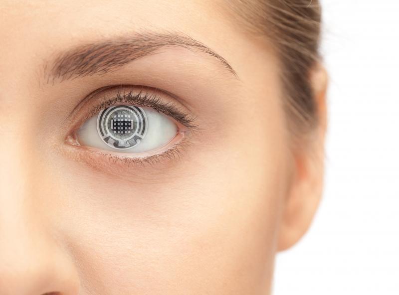 لنز چشمی که گلوکز خون را اندازه میگیرد!