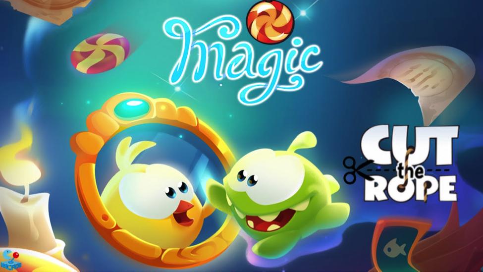 اپلیکیشن رایگان این هفته در اپ استور: Cut the Rope: Magic