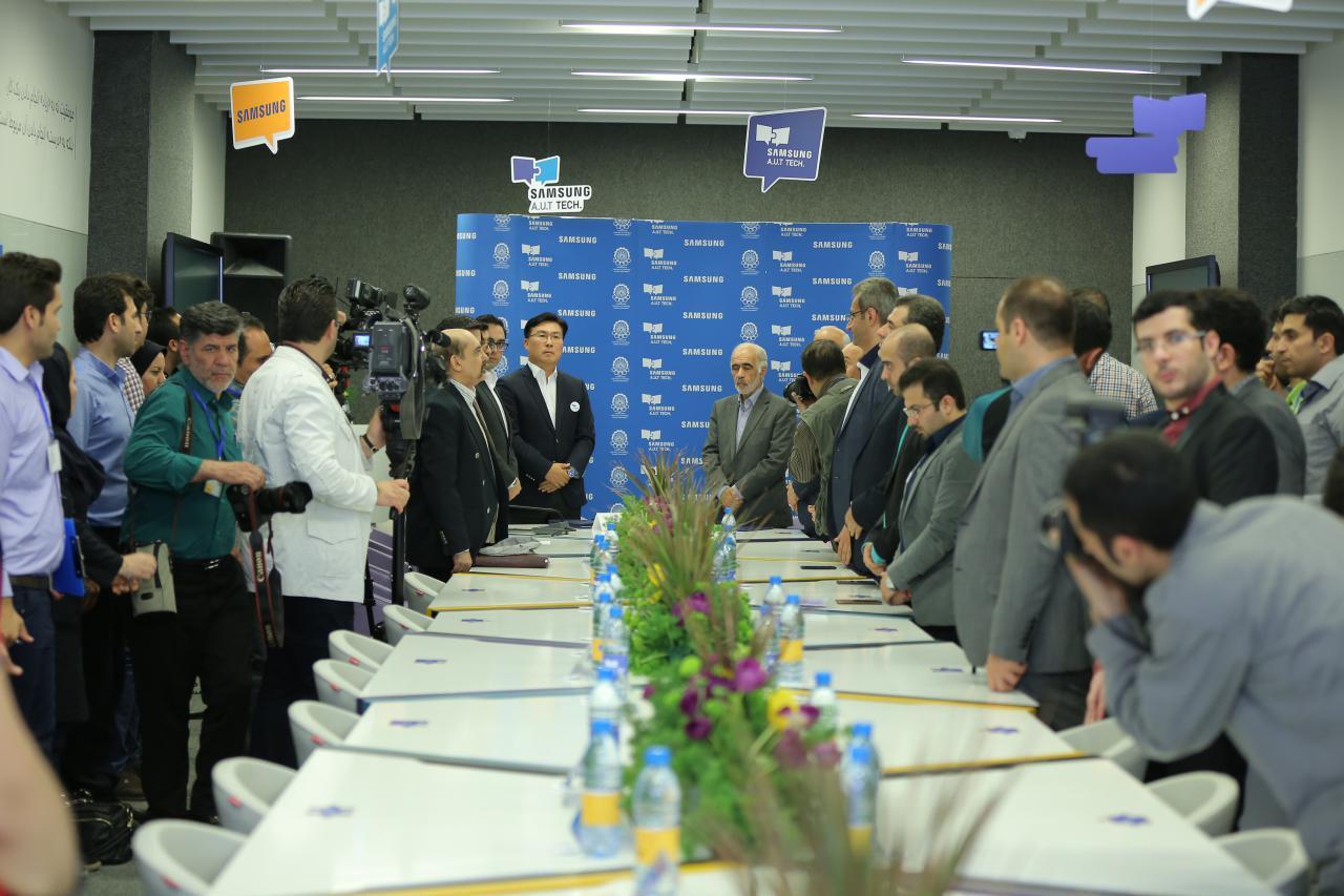 مرکز فناوری سامسونگ – امیرکبیر افتتاح شد؛ فناوری در خدمت پروژههای کاربردی