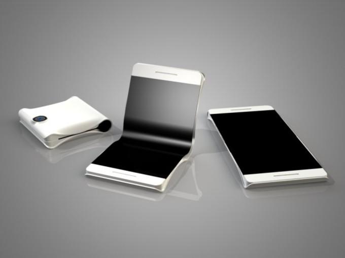 سامسونگ نمونه اولیه اسمارتفون های خمشونده با صفحه دوگانه را آزمایش میکند!