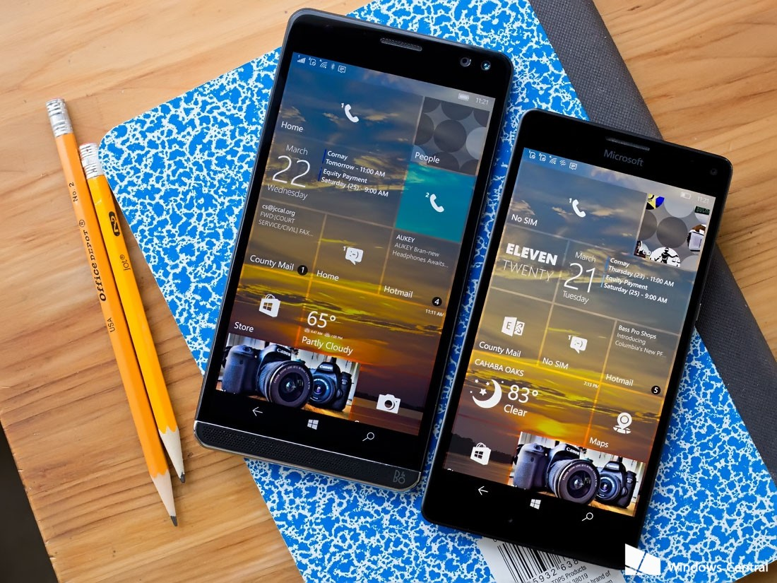 بروزرسانی کریترز ویندوز ۱۰ موبایل رسماً منتشر شد