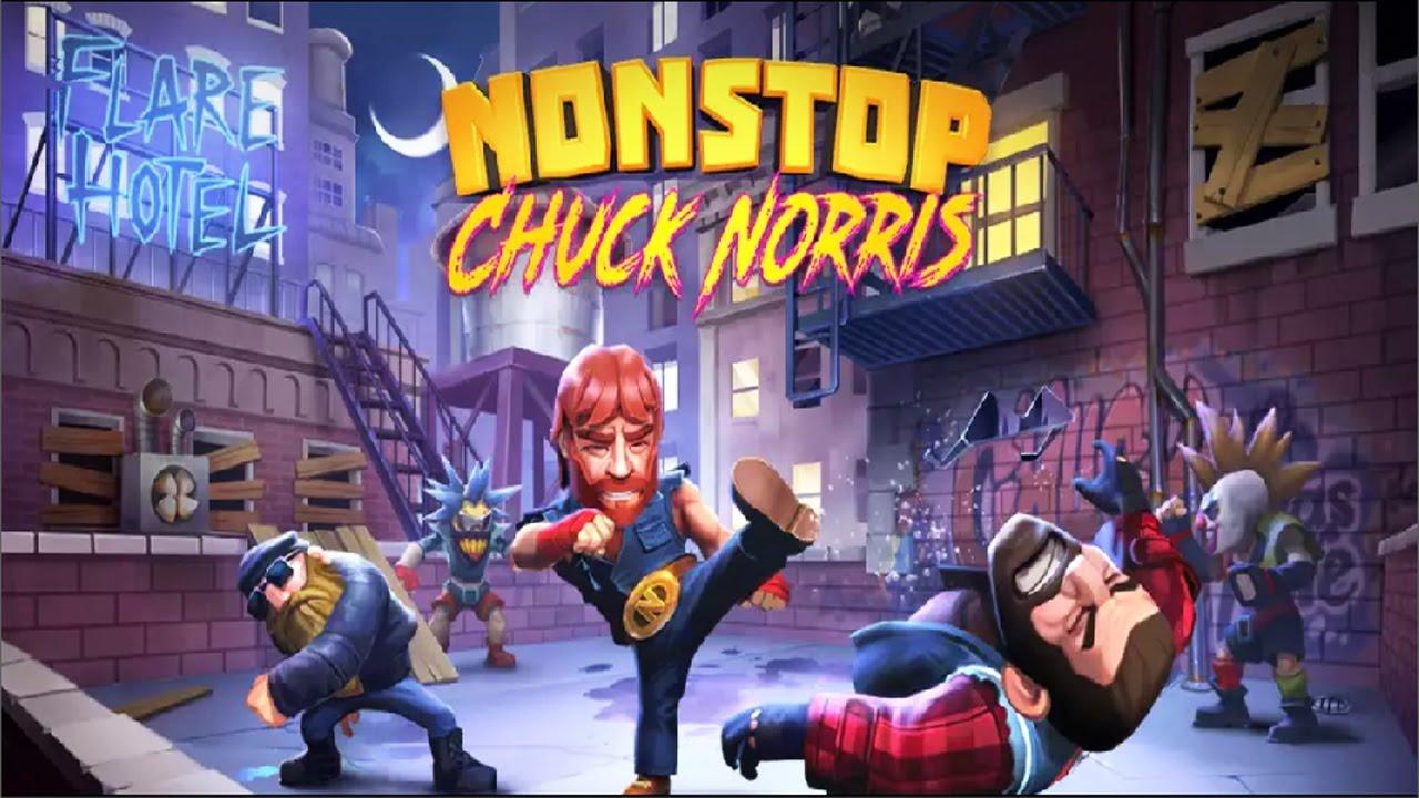 بازی موبایل چاک نوریس (Chuck Norris) برای اندروید و iOS منتشر شد