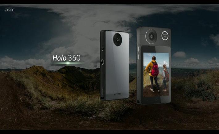 Acer Holo 360 یک دوربین اندرویدی با قابلیتهای تلفن همراه است!