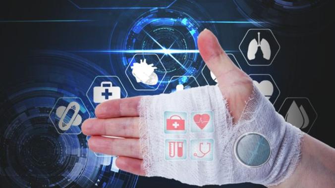 بانداژی که توسط فناوری ۵G اطلاعات خودش را منتقل و توسط نانوسنسورها به دکتر گزارش میدهد