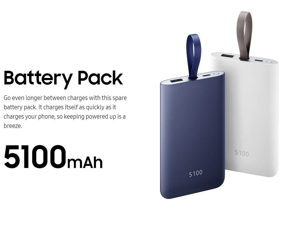 سامسونگ پاوربانک جدید خود را با ظرفیت ۵۱۰۰mAh و قابلیت شارژ سریع عرضه کرد!