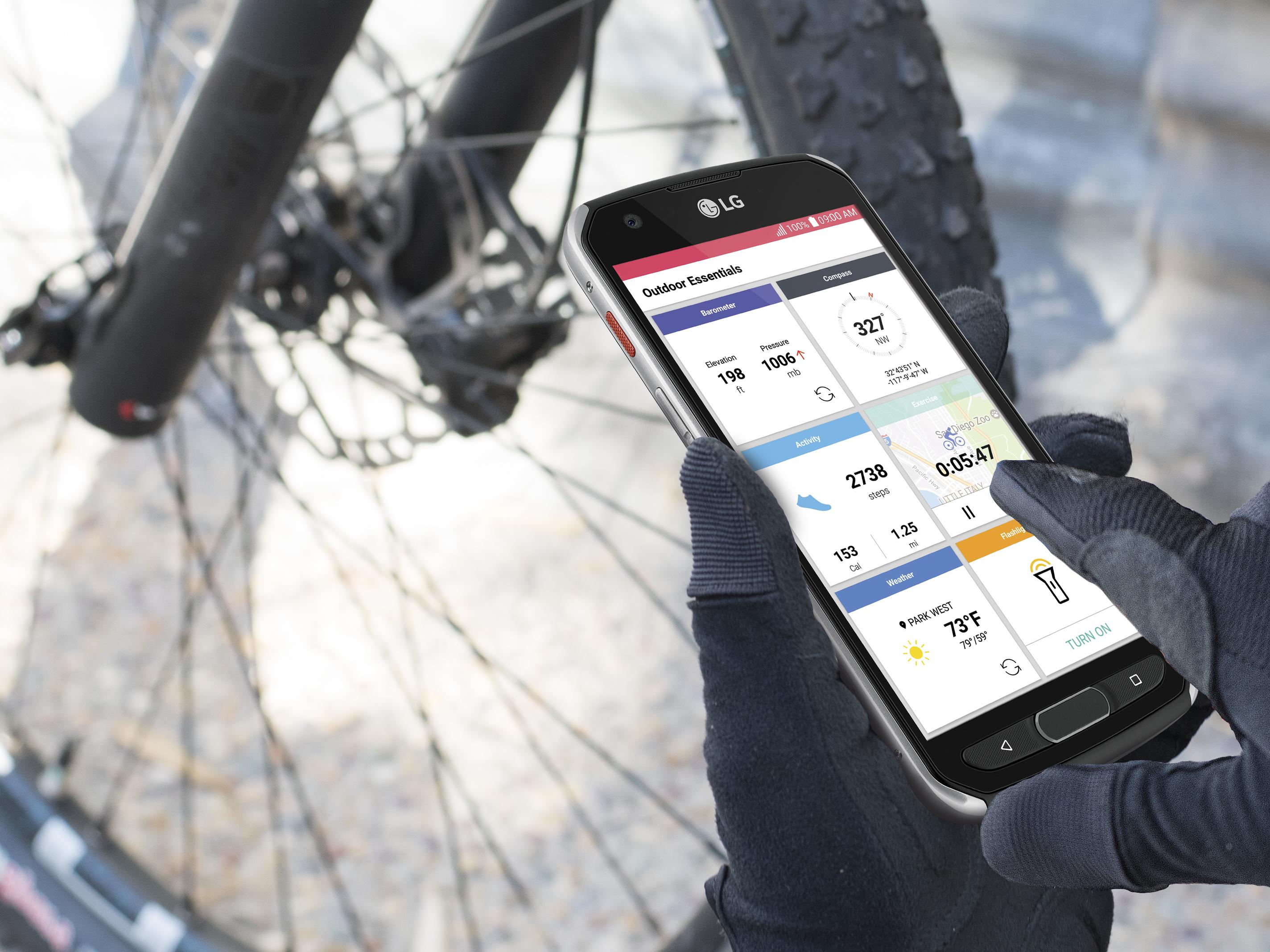 گوشی جدید LG X VENTURE با طراحی خاصش برای یک زندگی پر جنبوجوش، هرجا بروید با شما خواهد آمد