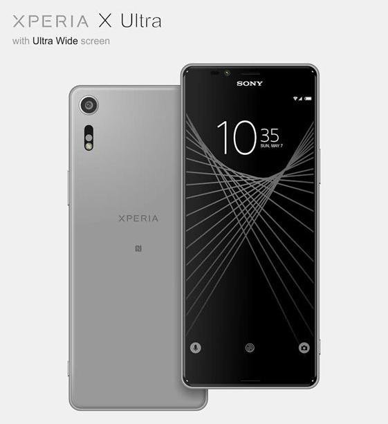 سونی اکسپریا ایکس آلترا (Sony Xperia X Ultra) ممکن است با صفحه نمایش ۶,۴ اینچی و نسبت ابعاد ۲۱:۹ عرضه شود