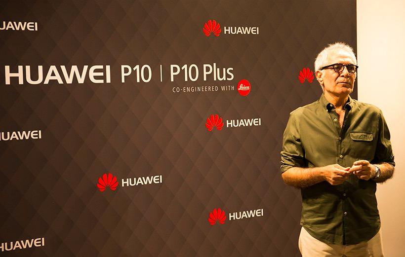 نمایشگاه عکس محمود کلاری با دوربین هواوی P10 برگزار شد
