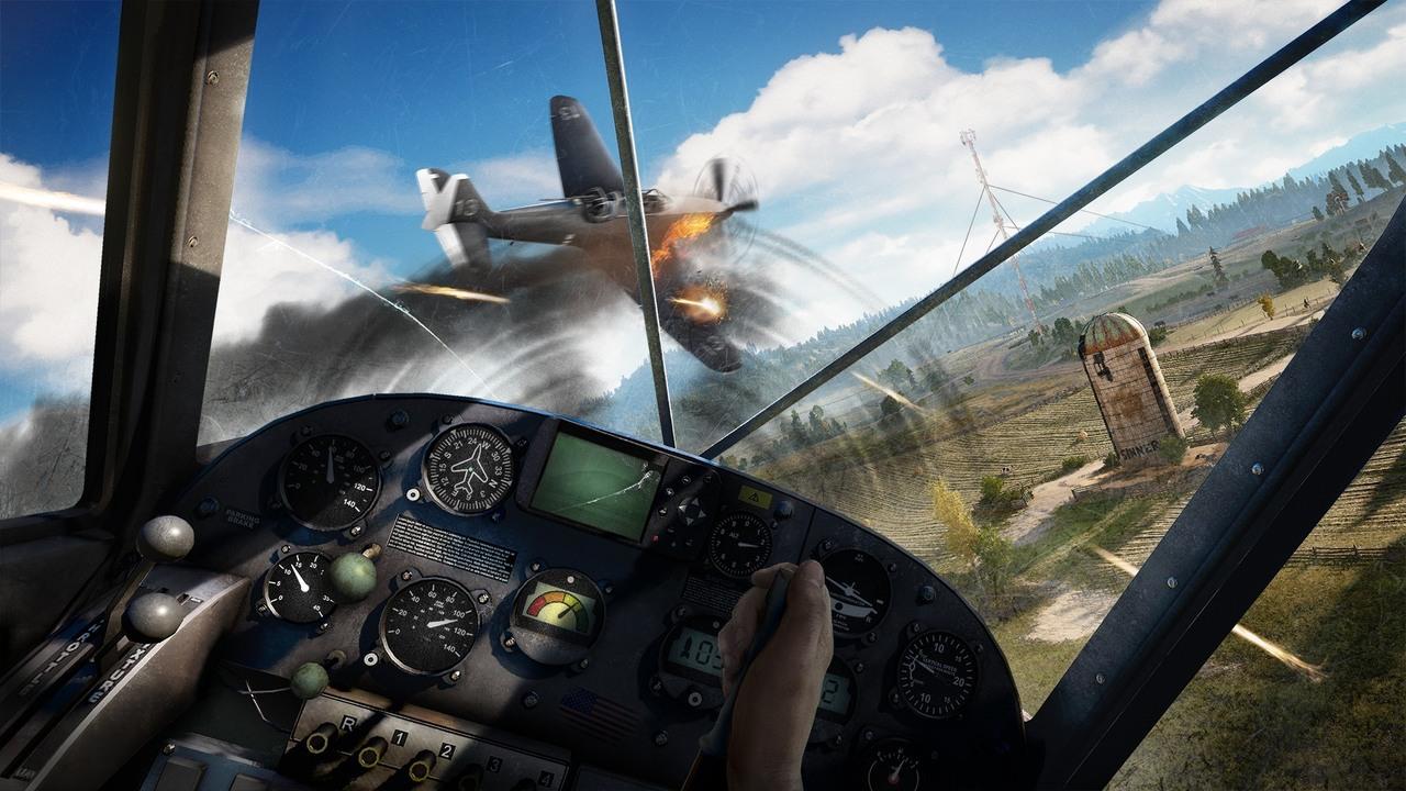 سوار بر هواپیما! FarCry 5 | Toranji