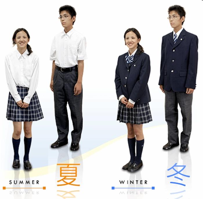 یونیفرم مدارس ژاپنی