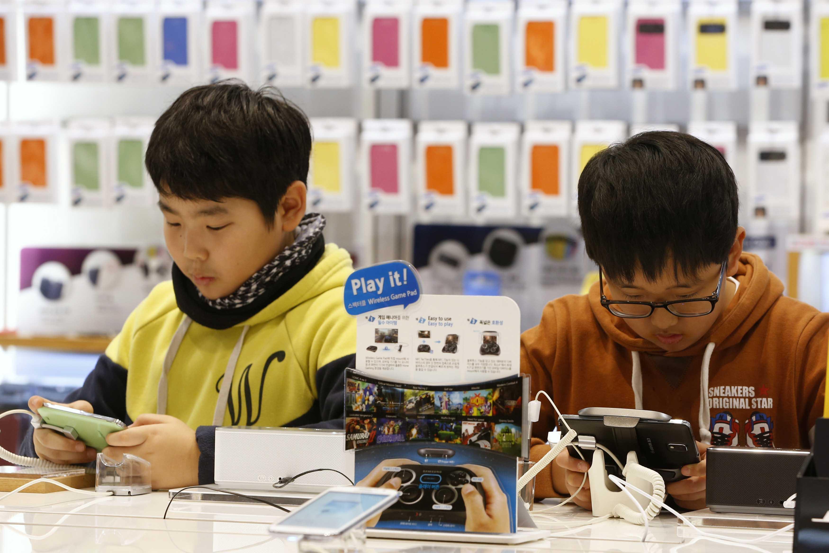 تفریحات برخی از دانشآموزان کره جنوبی