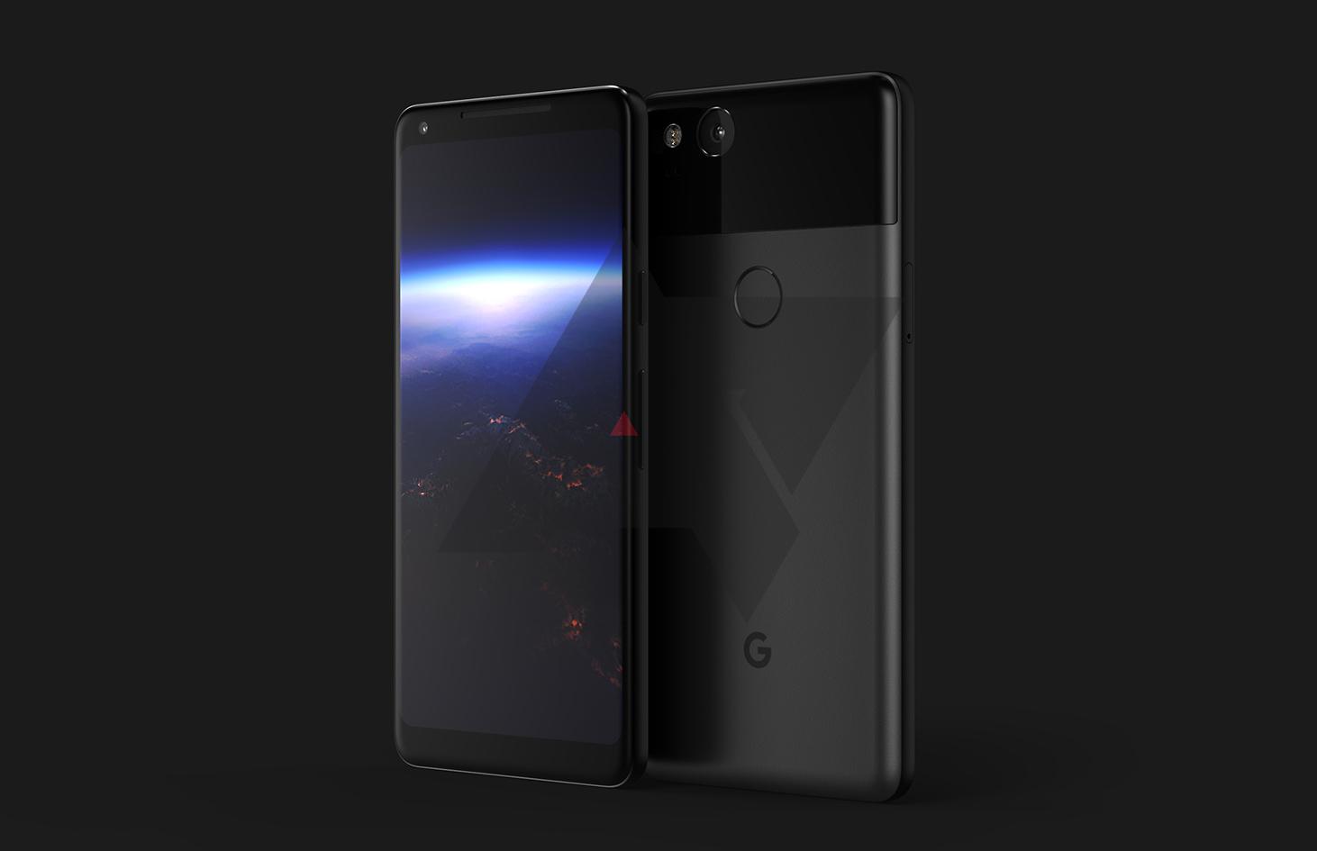 طرح مفهومی از گوشی گوگل پیکسل ۲ منتشر شد