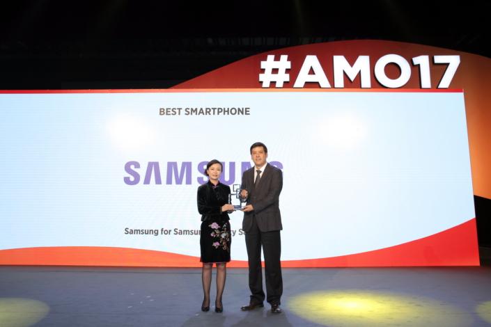 انتخاب گلکسی S8 و S8 پلاس به عنوان بهترین گوشیهای هوشمند MWC 2017 شانگهای