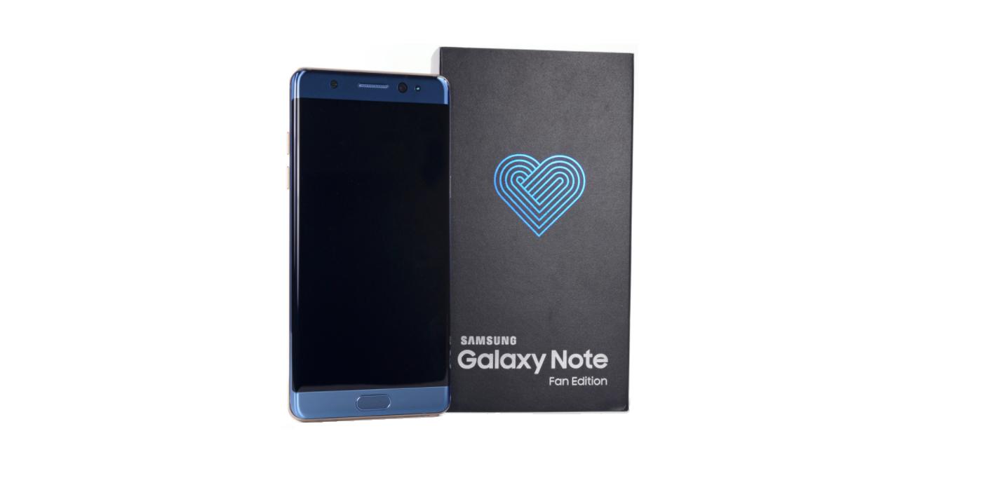 جعبه گشایی و بررسی اولیه گوشی گلکسی نوت فن ادیشن (Galaxy Note FE)