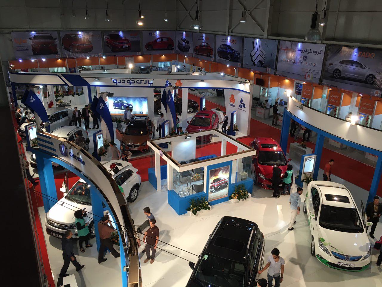 سایپا در نمایشگاه خودروی ارومیه