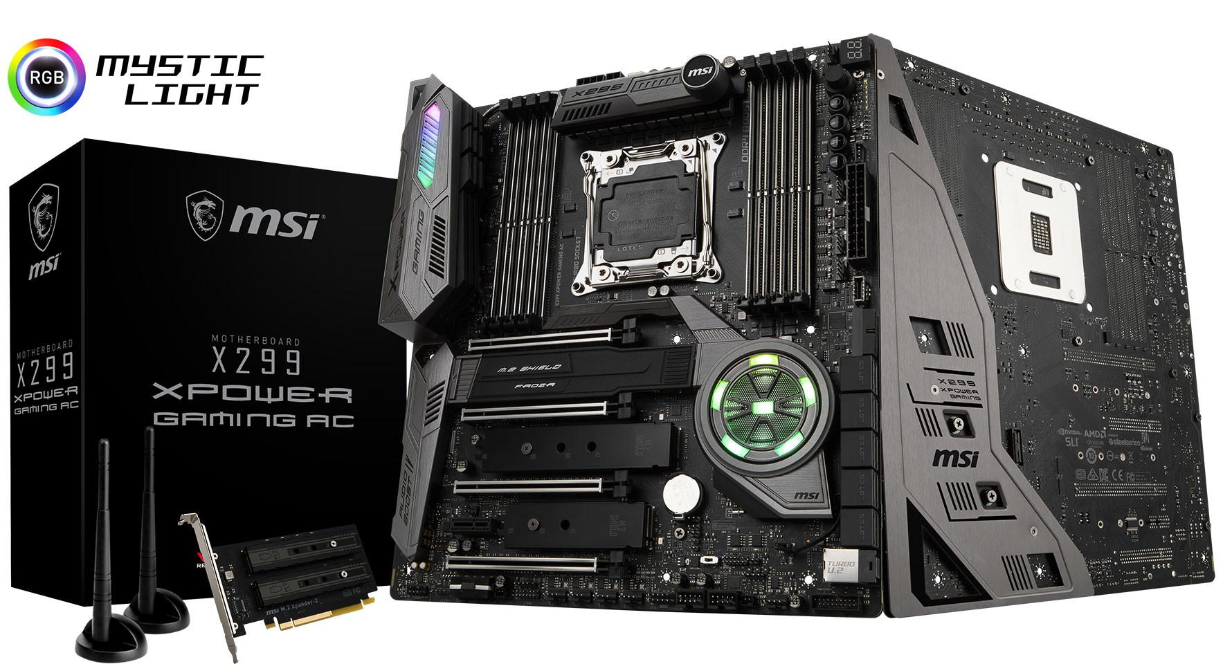 شرکت MSI پرچمدار جدید خود X299 XPower Gaming AC را معرفی کرد؛ بازگشت گلادیاتور