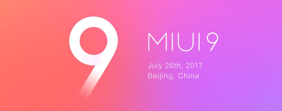 شیائومی می ۶ و ردمی نوت ۴ایکس در ۱۱ آگوست رابط کاربری MIUI 9 را دریافت خواهند کرد