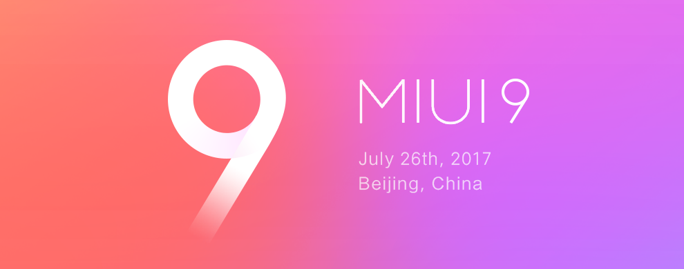 MIUI9 به همراه سه ویژگی اصلی رونمایی شد