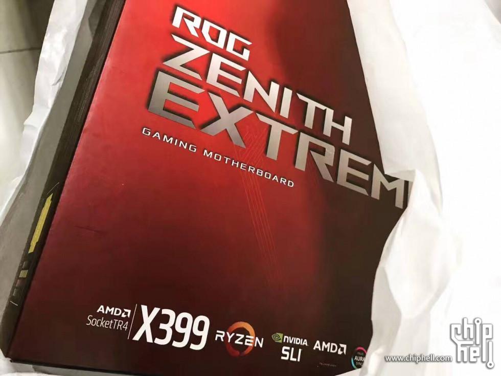 محتویات جعبه مادربرد ایسوس X399 ROG Zenith Extreme پیش از معرفی، فاش شد