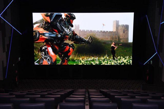 رونمایی سامسونگ از اولین صفحه نمایش LED برای سینما