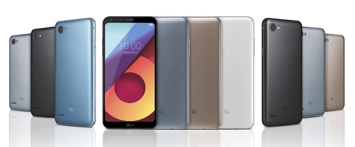 الجی کیو 6 (LG Q6)
