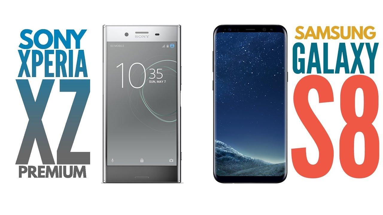 تماشا کنید: مقایسه کیفیت تصویر نمایشگر سونی Xperia XZ Premium با سامسونگ Galaxy S8