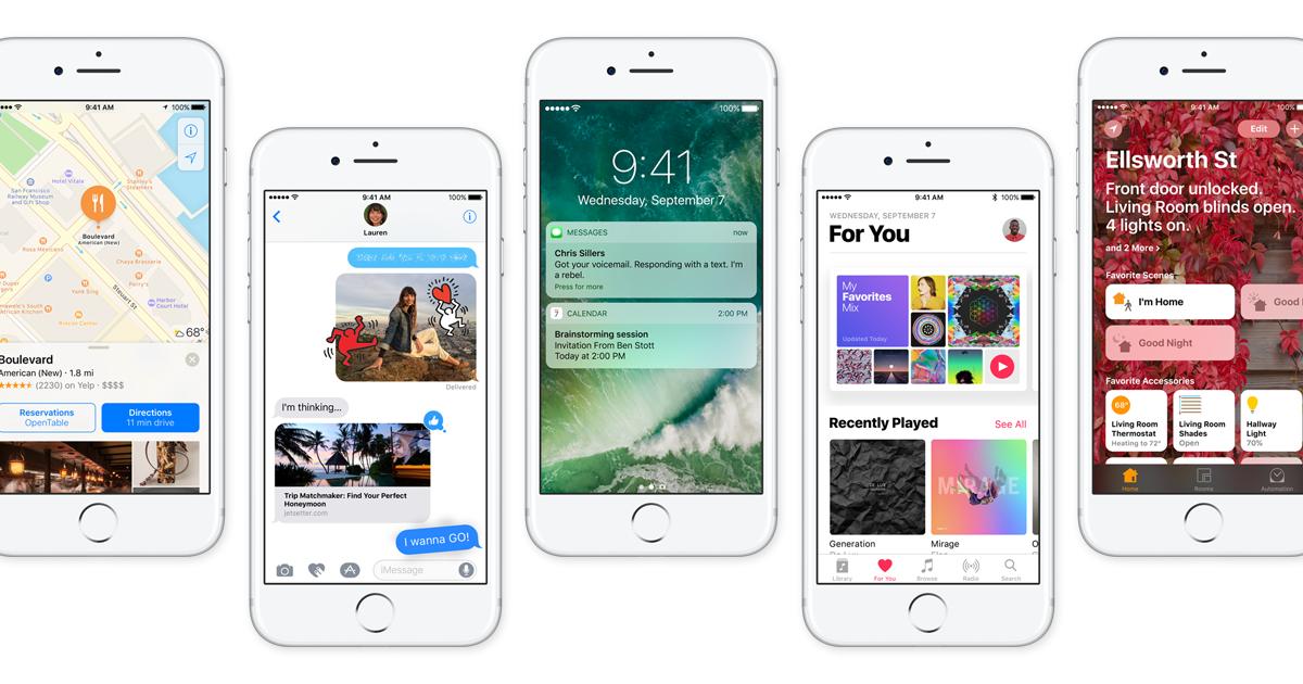 اپل بتای IOS 11 را برای توسعه دهندهها منتشر کرد
