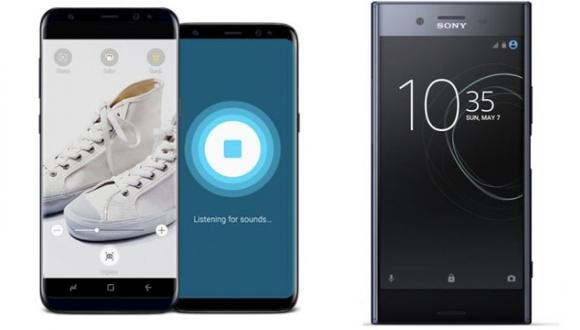 تماشا کنید: مقایسه سرعت Xperia XZ Premium با +Galaxy S8