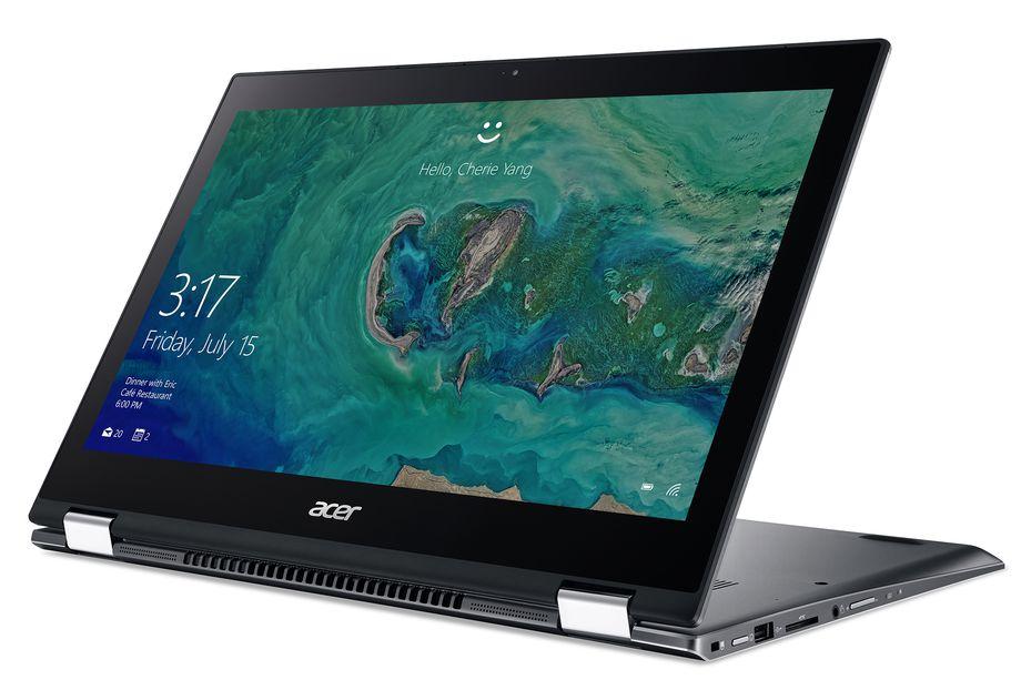 ایفا 2017: ایسر لپتاپ Spin 5 را معرفی کرد ؛ همراه با نسل هشتم پردازندههای اینتل