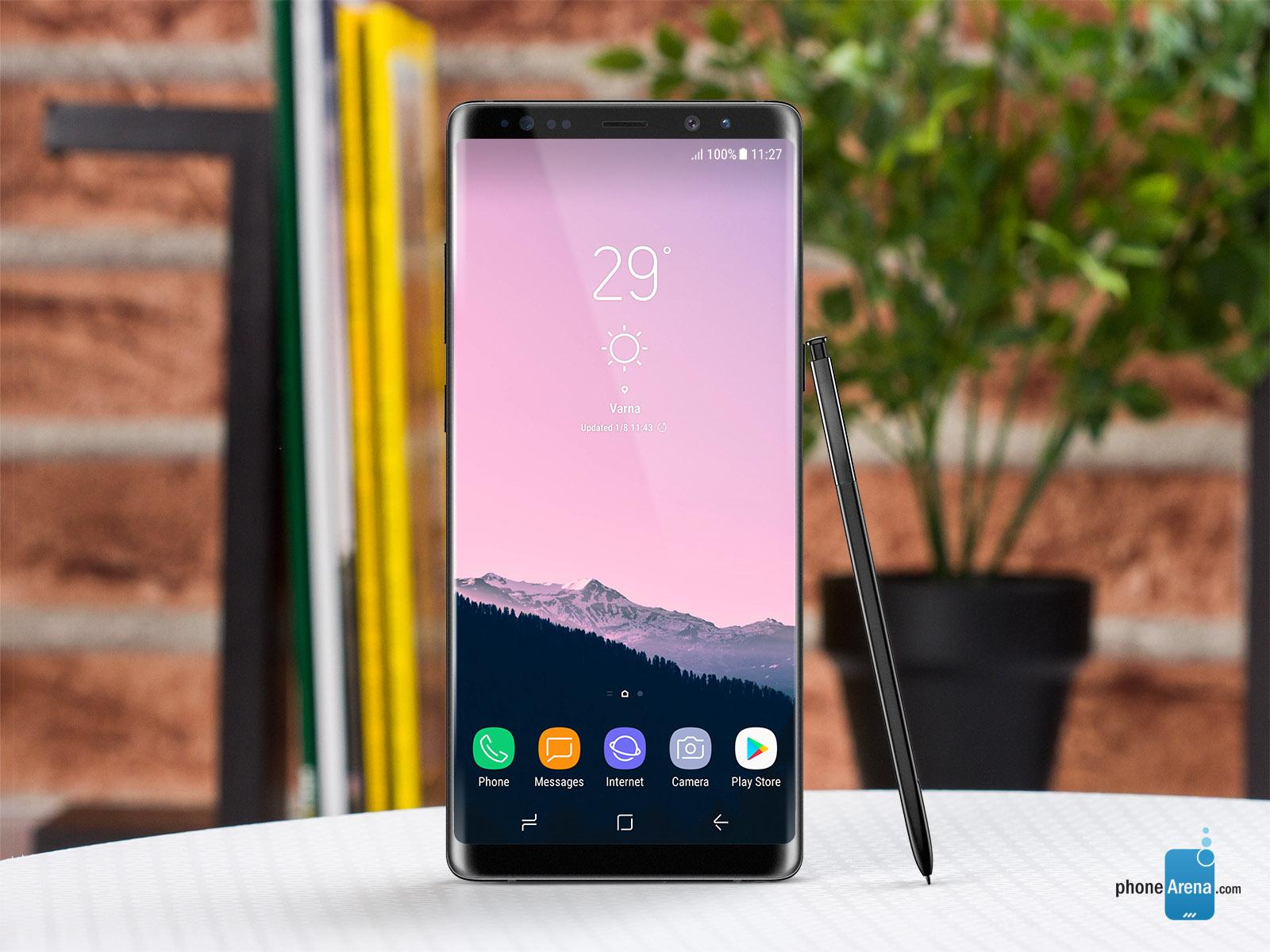 فوری: سامسونگ گلکسی نوت 8 (Galaxy Note 8) امتیاز 179,000 را از آنتوتو بدست آورد