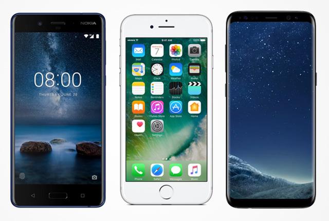 مقایسه دوربین Nokia 8، Galaxy s8، LG G6، iPhone 7 Plus  و P10
