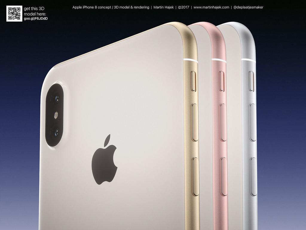 طرحهای مفهومی جدید از آیفون ۸ به همراه رنگهایی تازه منتشر شدند