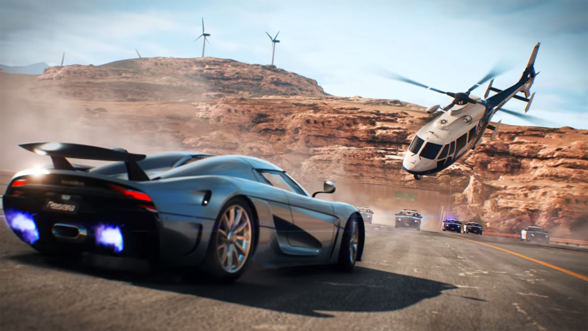 تریلر جدید Need For Speed  زرادخانه پلیس ها را نشان میدهد