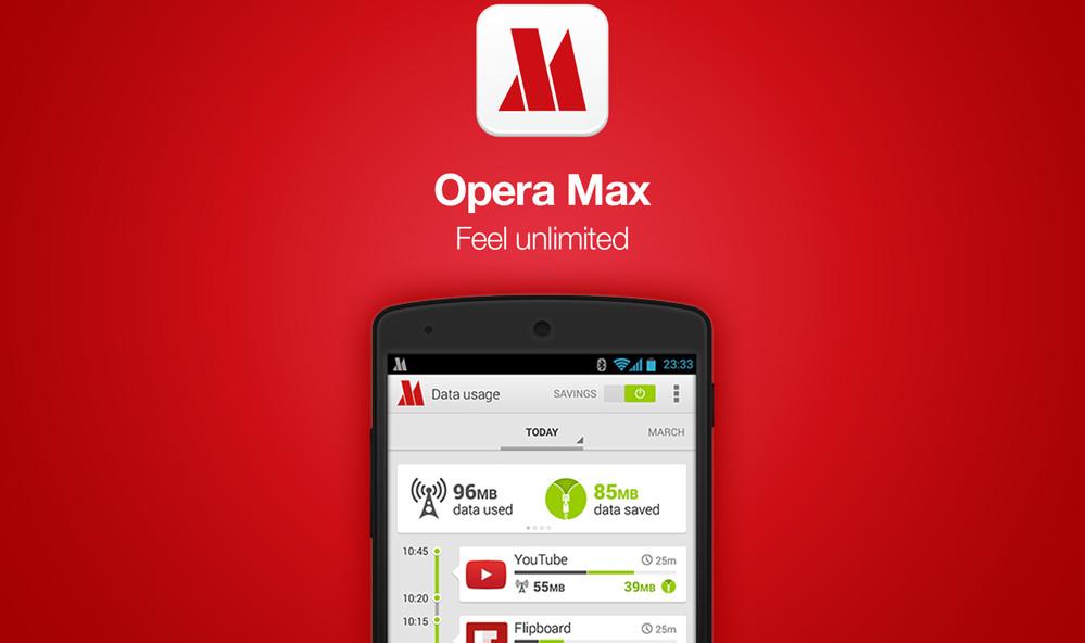 Opera Max دیگر بروزرسانی نشده و از گوگل پلی حذف میشود