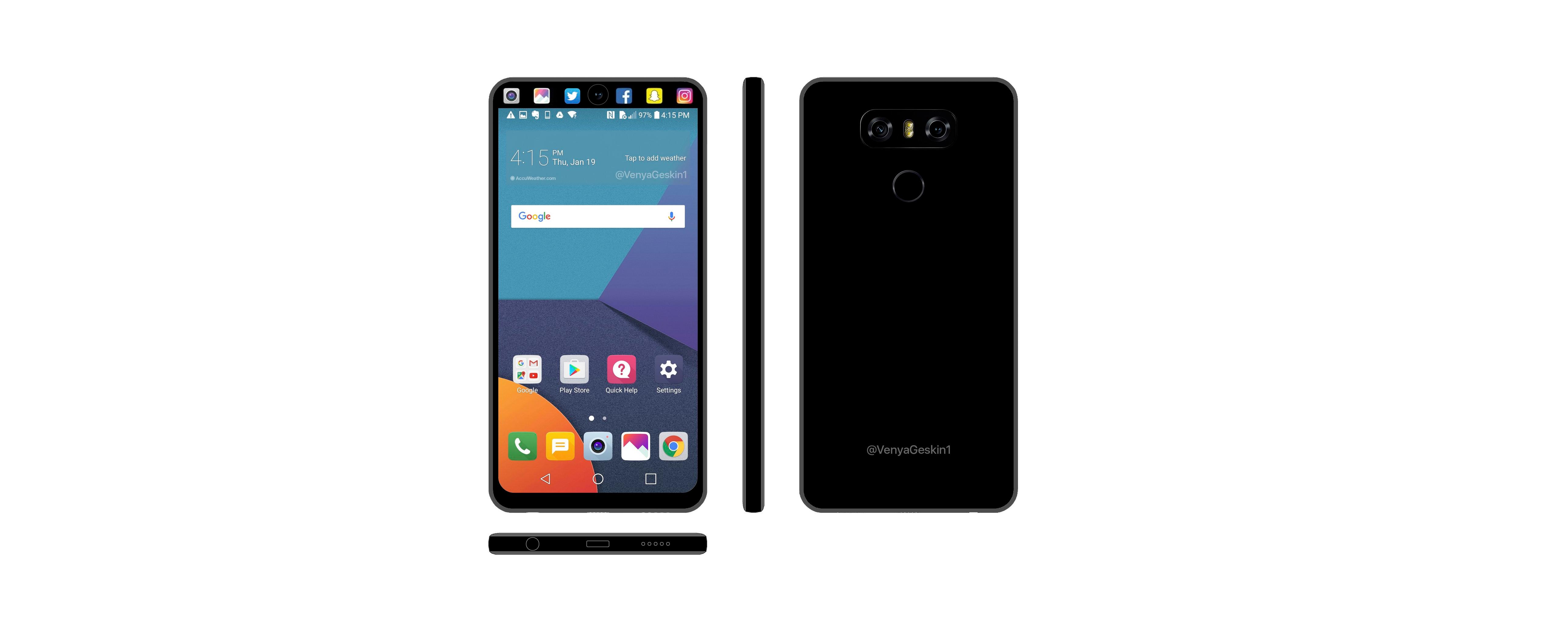 ال جی گوشیهای V30 و V30 Plus را در تاریخ 16 شهریور عرضه خواهد کرد