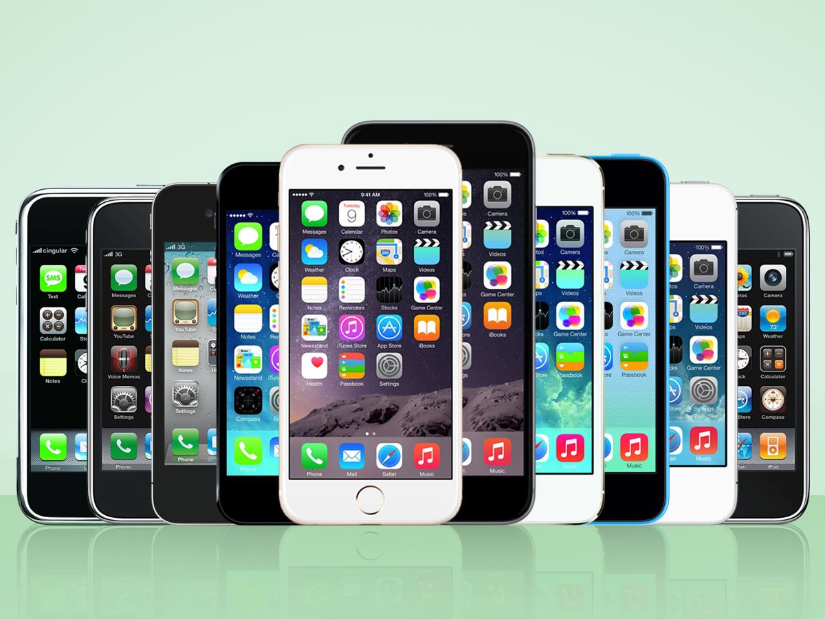 فروش ۱٫۲ میلیارد گوشی آیفون از زمان معرفی اولین نسل تاکنون