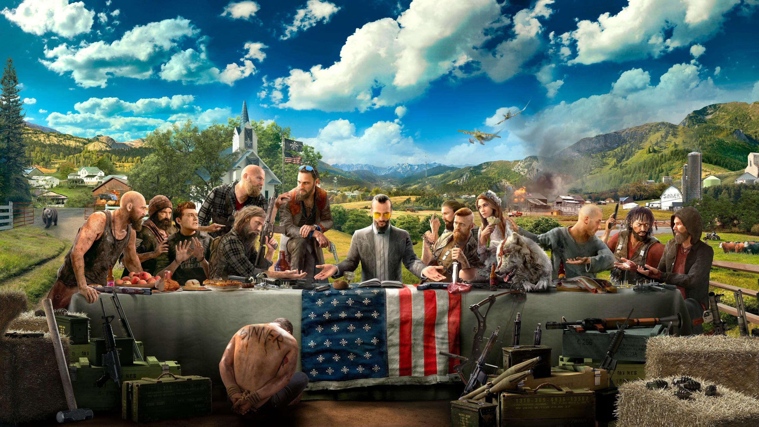 تماشا کنید: ویدیو جدید منتشر شده از بازی Far Cry 5، قسمتی از گیمپلی آن را به نمایش میگذارد