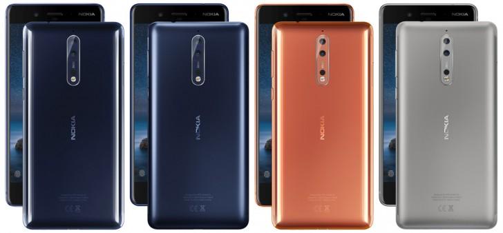 نتایج باتری Nokia 8 منتشر شد