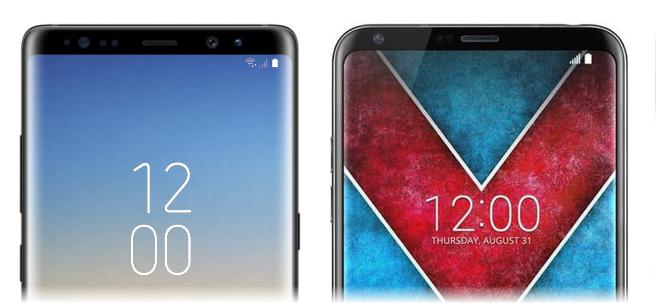تفاوتهای دو غول بزرگ عصر تکنولوژی؛ گلکسی نوت 8 و الجی V30
